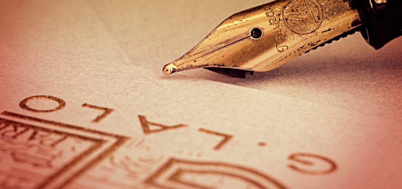 Motivos para necesitar a un perito calígrafo