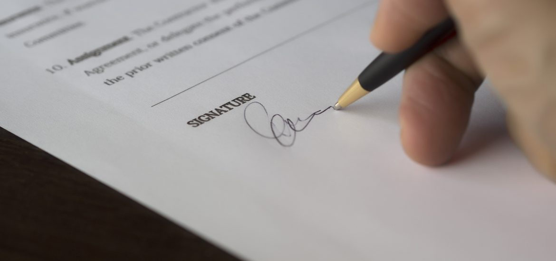 Resultado de imagen para firma contrato