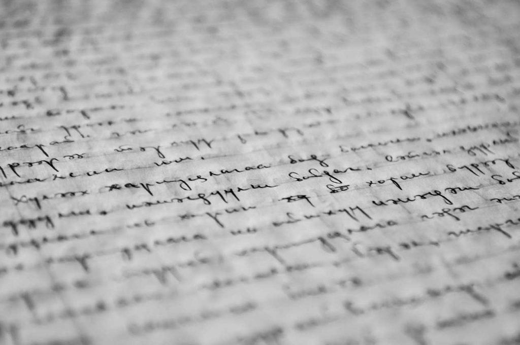 Gracias a la pericia caligráfica podemos saber quién escribió un texto o firmó un documento